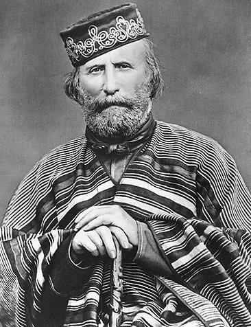 Italian revolutionary Giuseppe Garibaldi