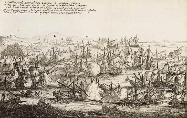 The 1656 Battle of the Dardanelles