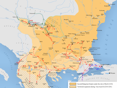 055 Looking back on the Second Bulgarian Empire, Part 1