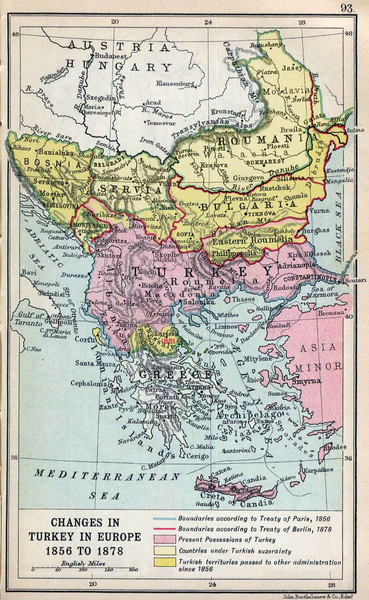 The Balkans after the Treaty of Berlin