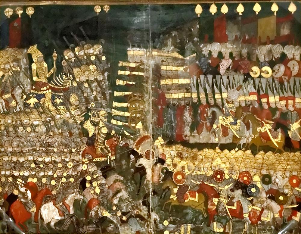 An Ottoman miniature of the Battle of Mohacs
