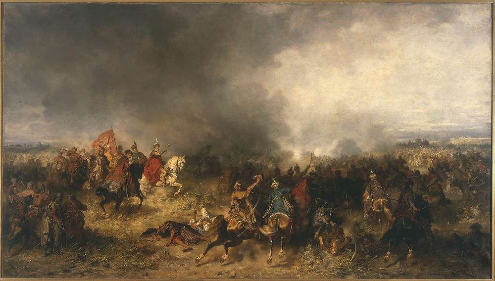 Another depiction of the Battle of Khotyn