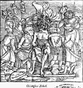 The brutal torture of György Dózsa