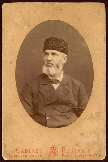 Alexander Bogoridi, the appointed head of Eastern Rumelia