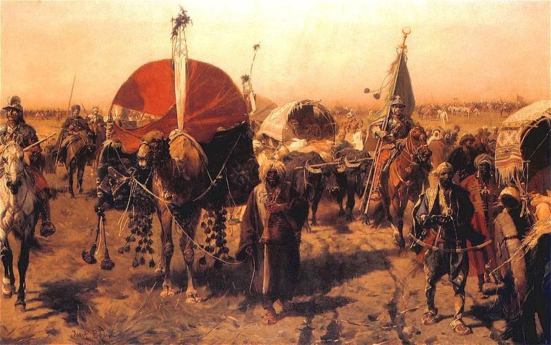 The Ottoman retreat