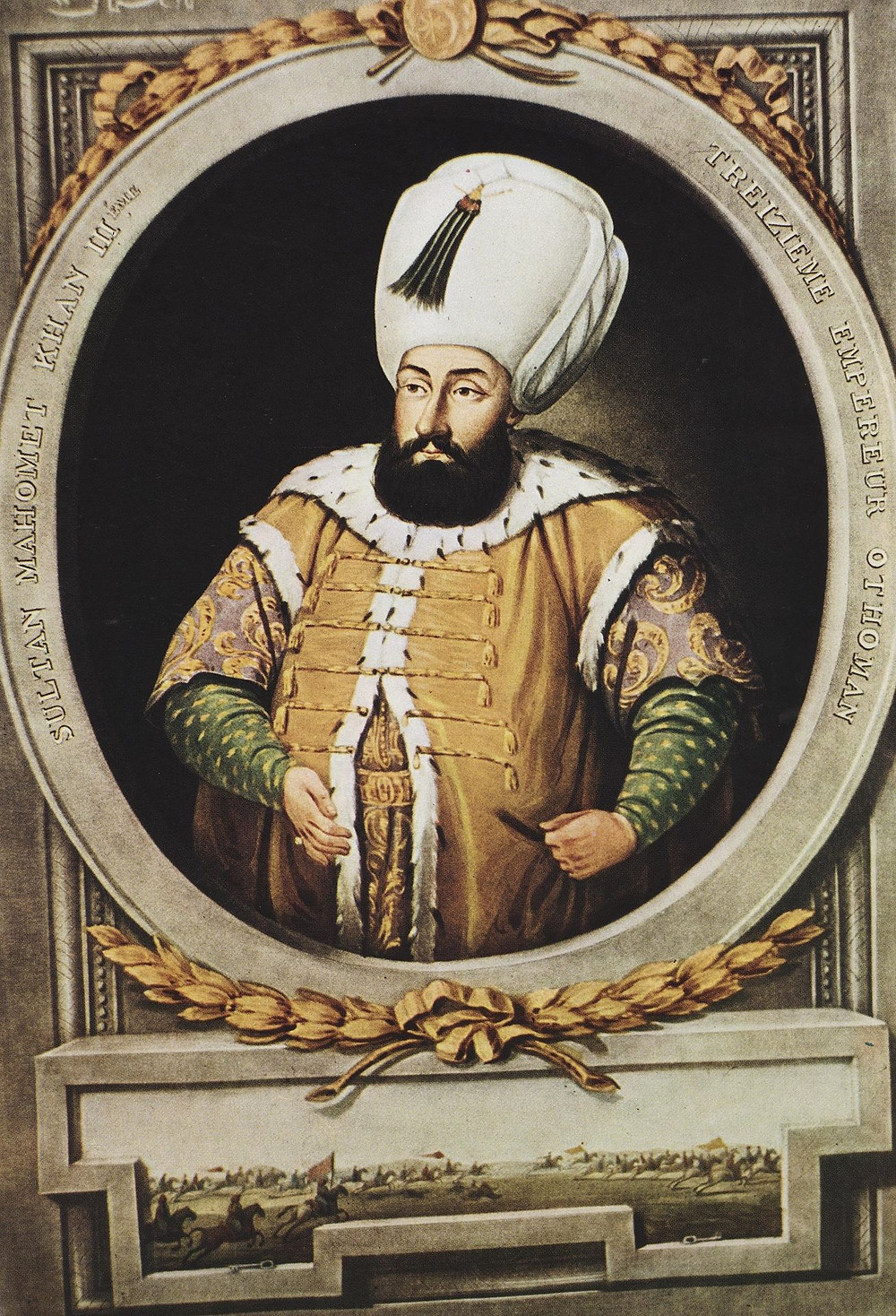 The new Sultan, Mehmed III