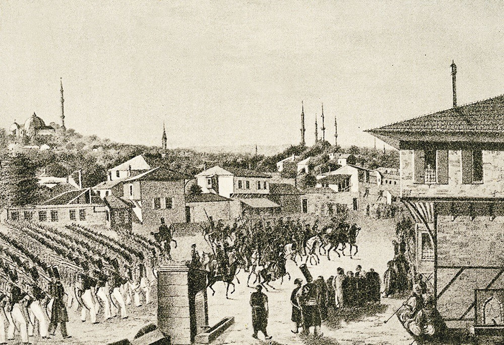 The 1829 Russian occupation of Edirne
