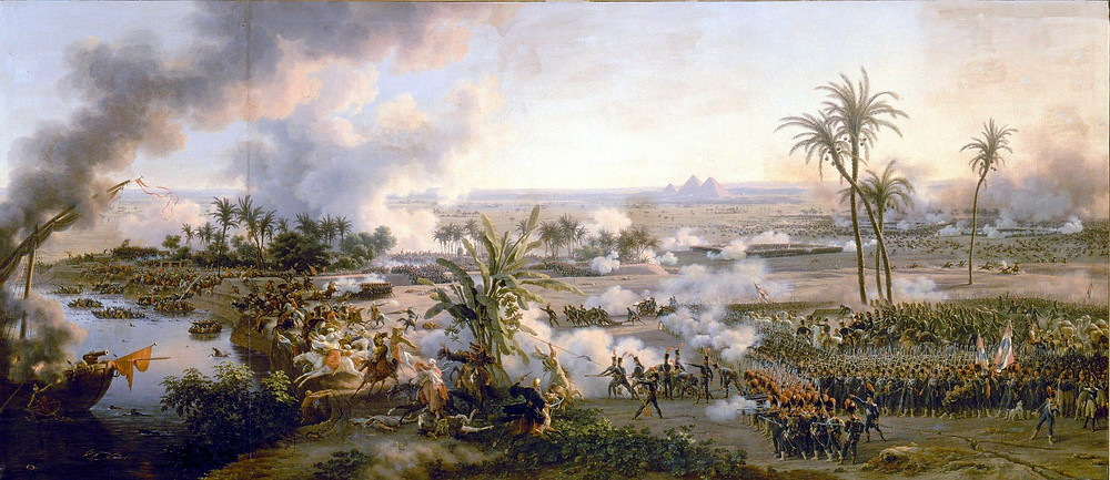 The 1798 Battle of the Pyramids