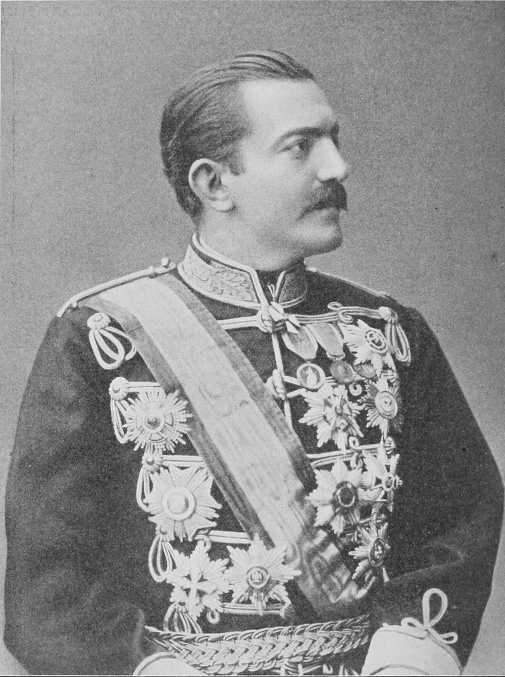 Prince Milan of Serbia