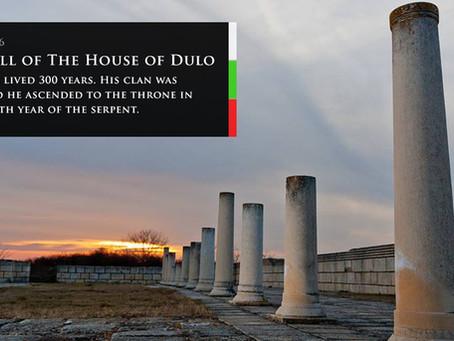 006 Падението на династията Дуло