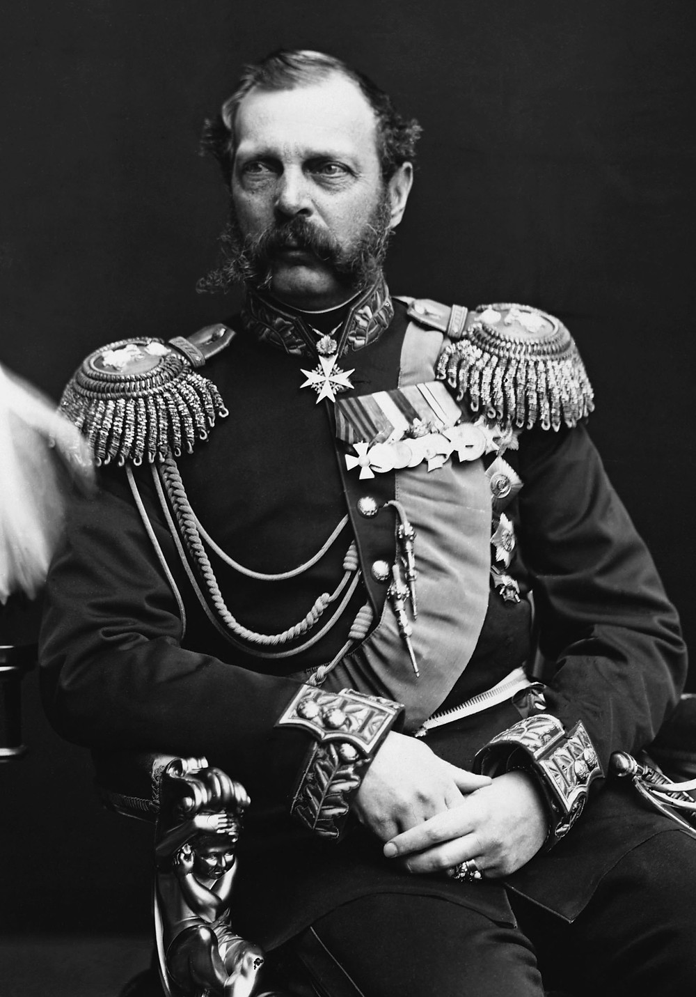 The new Tsar Alexander II