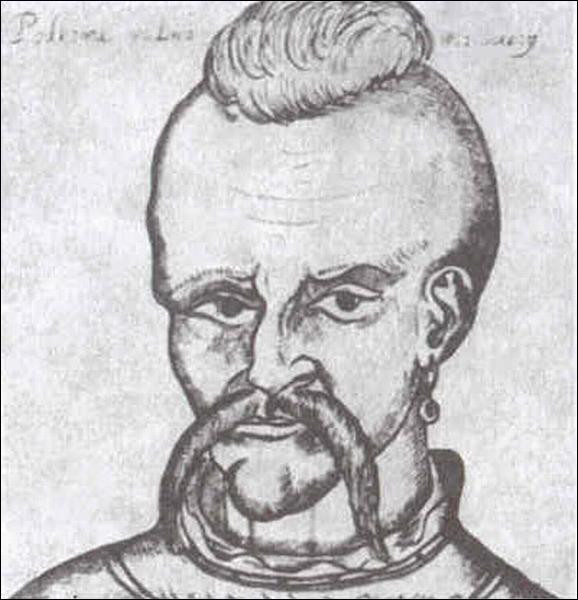 A portrait of Peter the Cossack, the brief ruler of Moldavia