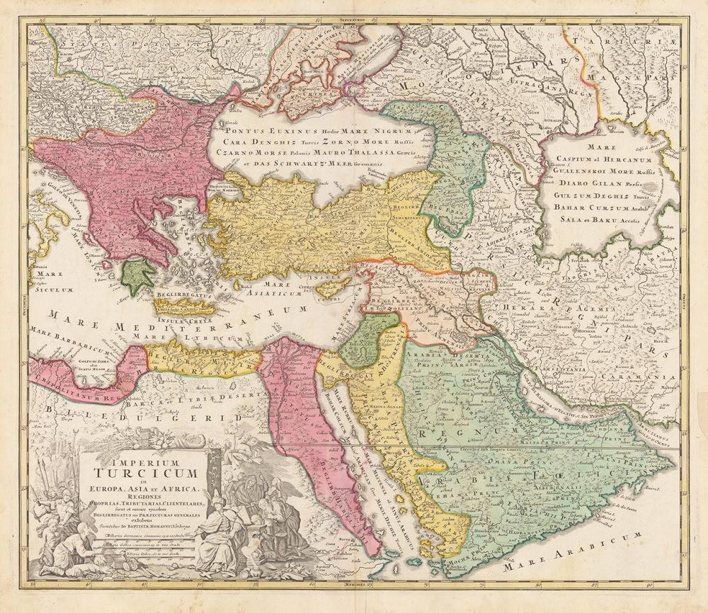 The Ottoman Empire in 1720