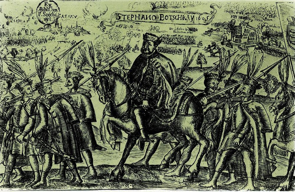 Stephen Bocskai and his Hajduk warriors