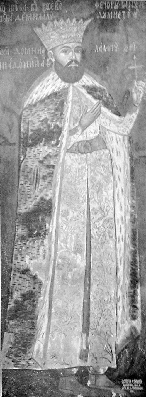 Radu Șerban, Voivode of Wallachia