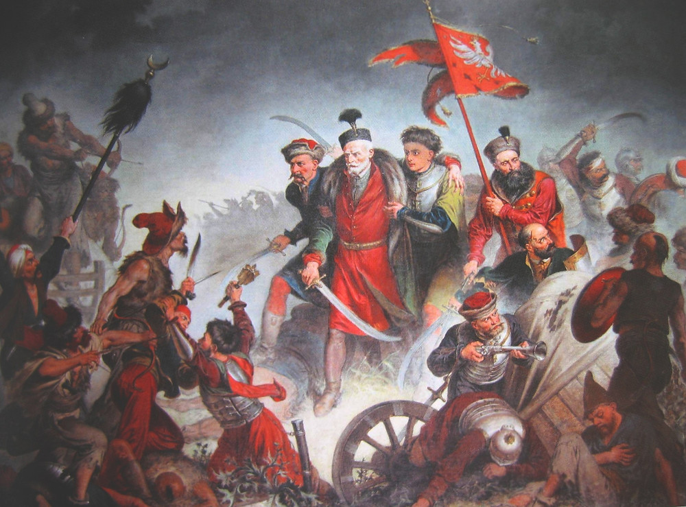 The death of a Polish Nobleman during the 1620 Battle of Cecora