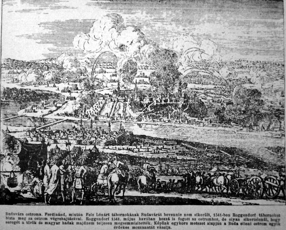 The siege of Buda