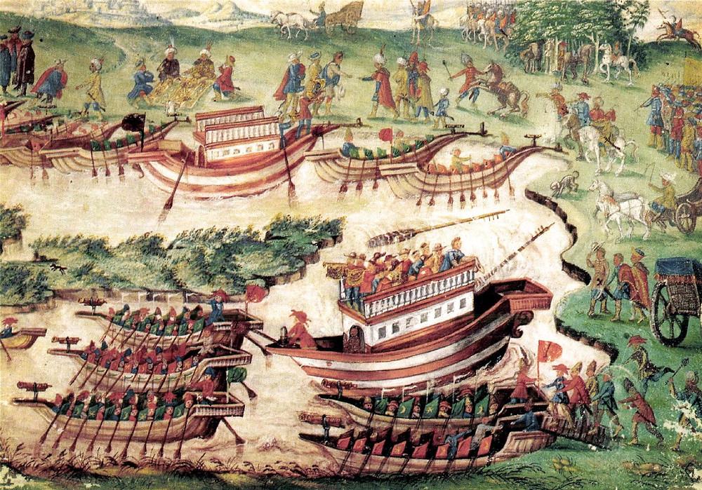 Negotiations in Zsitvatorok 1606