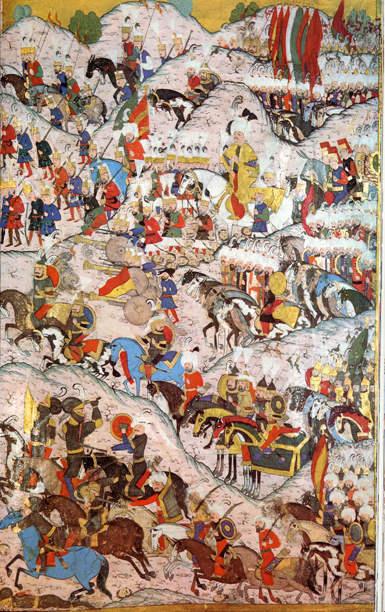 Another Ottoman miniature of the Battle of Mohacs
