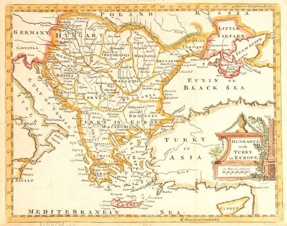 The Balkans in the 1750s