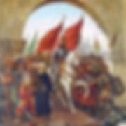 Mehmed the Conqueror Entering Constantinople