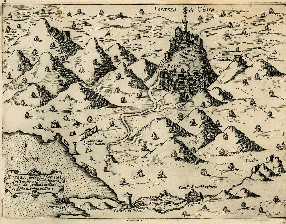 The Croatia fortress of Klis