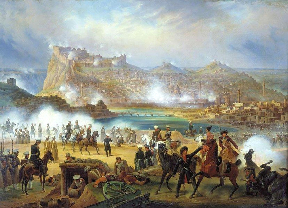 The Russian Siege of Kars