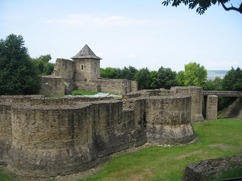 The fortress of the Moldavian capital of Suceava