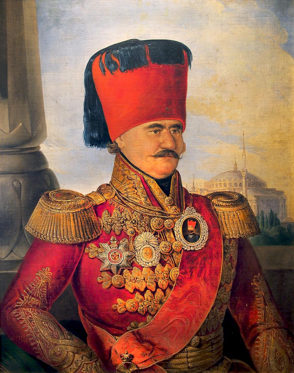 Miloš Obrenović as Knez of Serbia