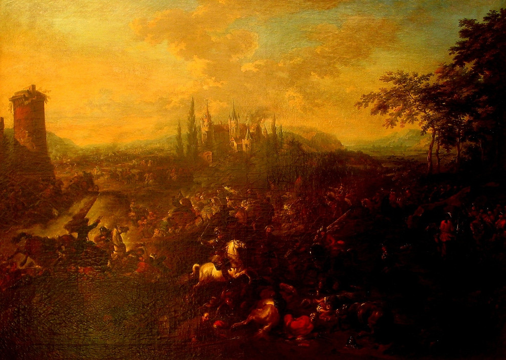 The Battle of Petrovaradin