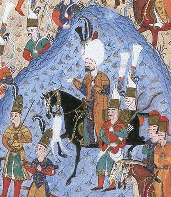 Sultan Suleiman at the Siege of Rhodes
