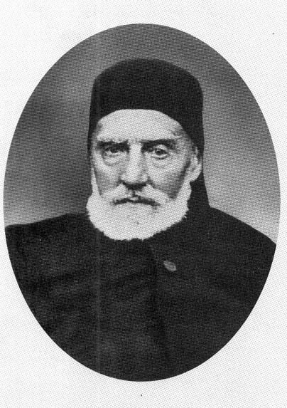Stefan Bogoridi, an Ottoman statesman of Bulgarian origin