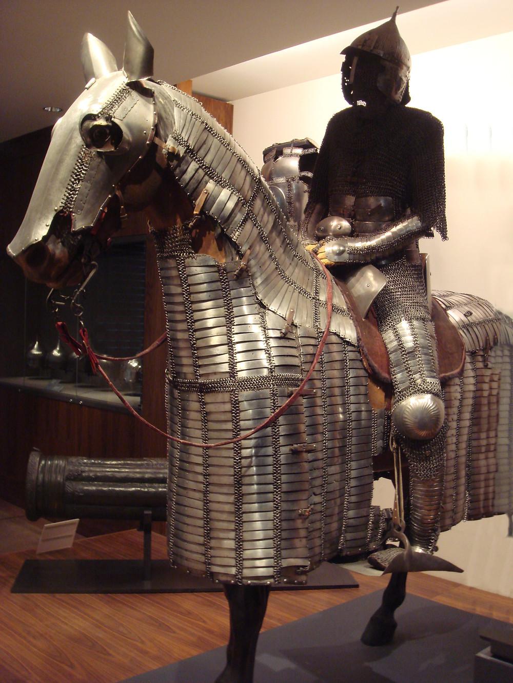 Mamluk horse armor