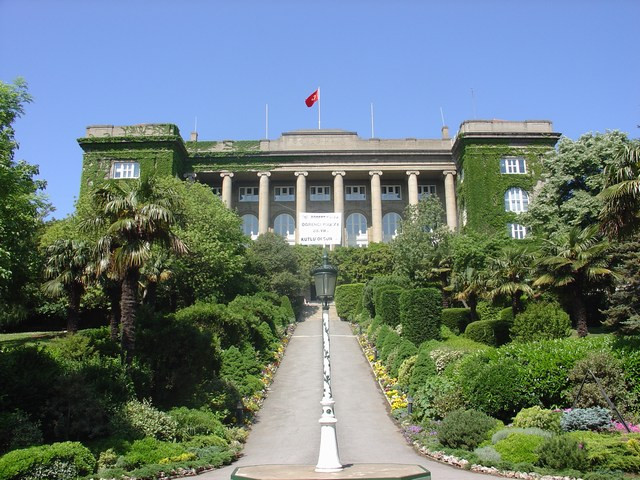 The main building of Robert College in Istanbul today