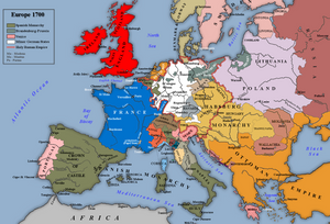 Europe between the Treat of Karlowitz and the Second Morean War
