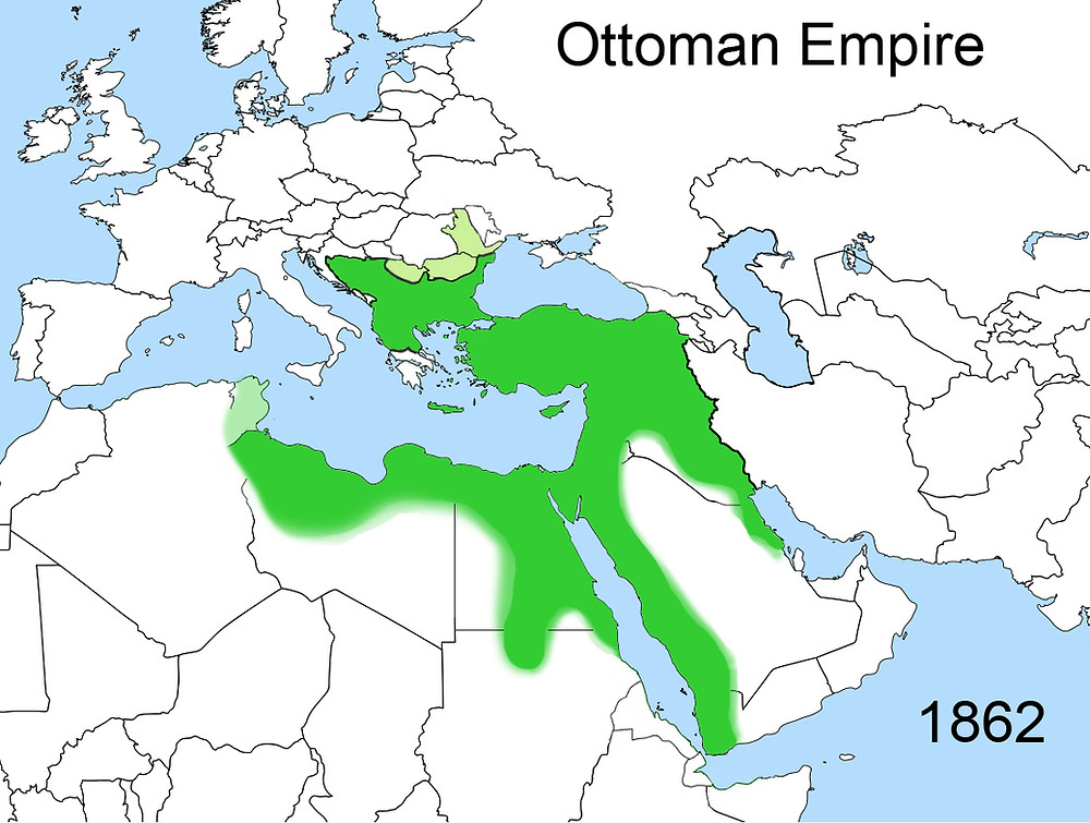 The Ottoman Empire in 1862