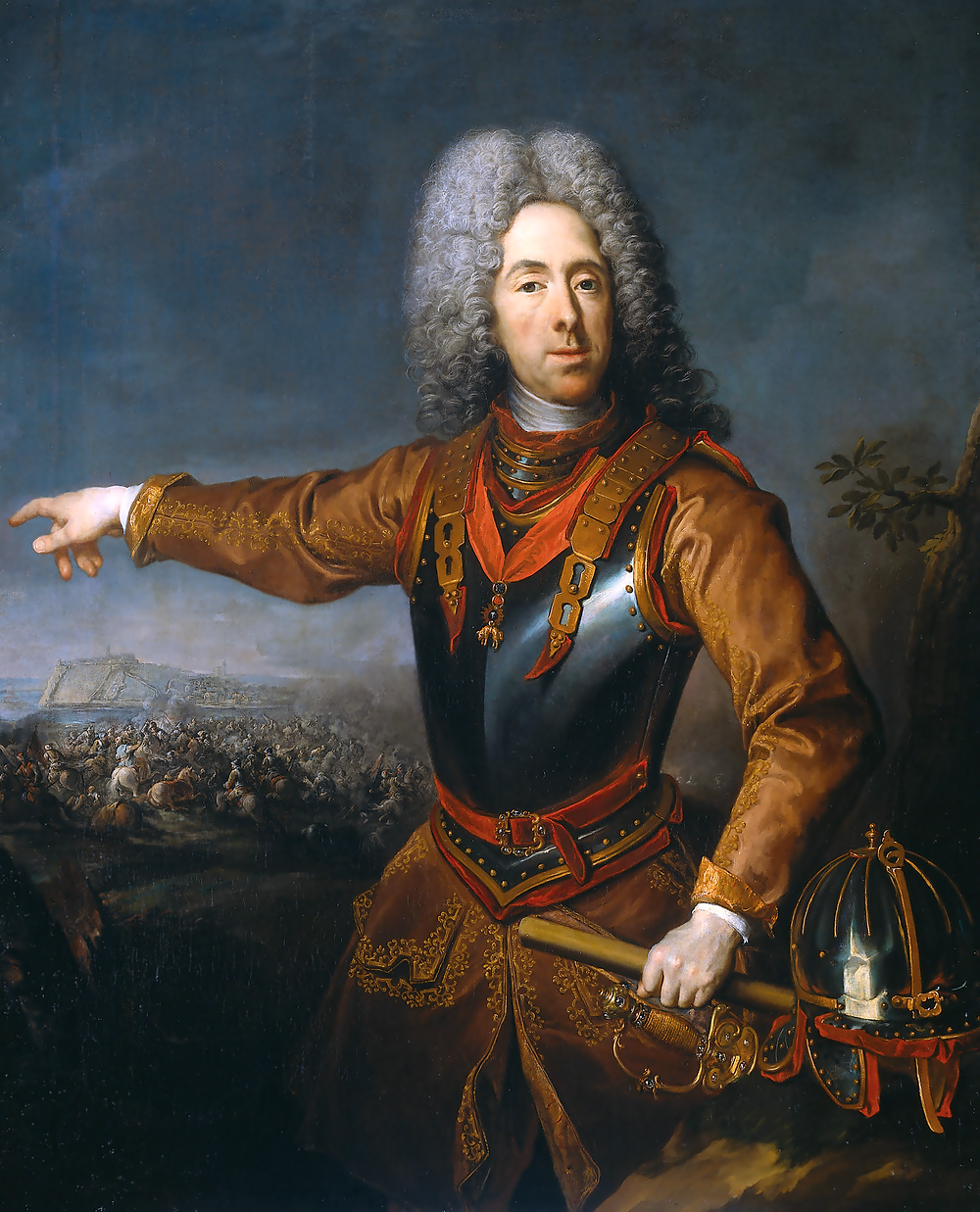 Prince Eugene of Savoy, Commander of the Austrian Army