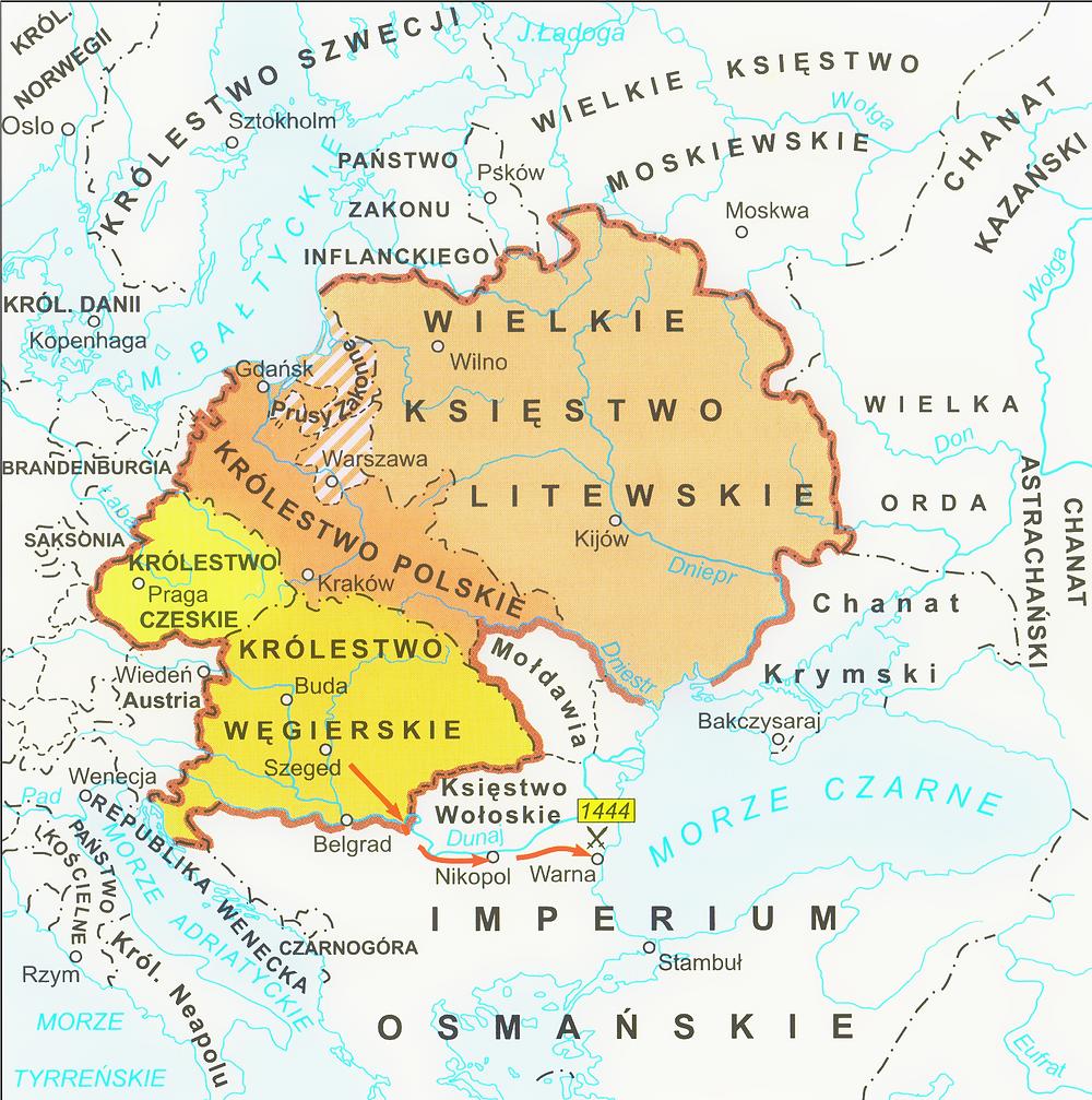 Jagiellonian dynasty lands