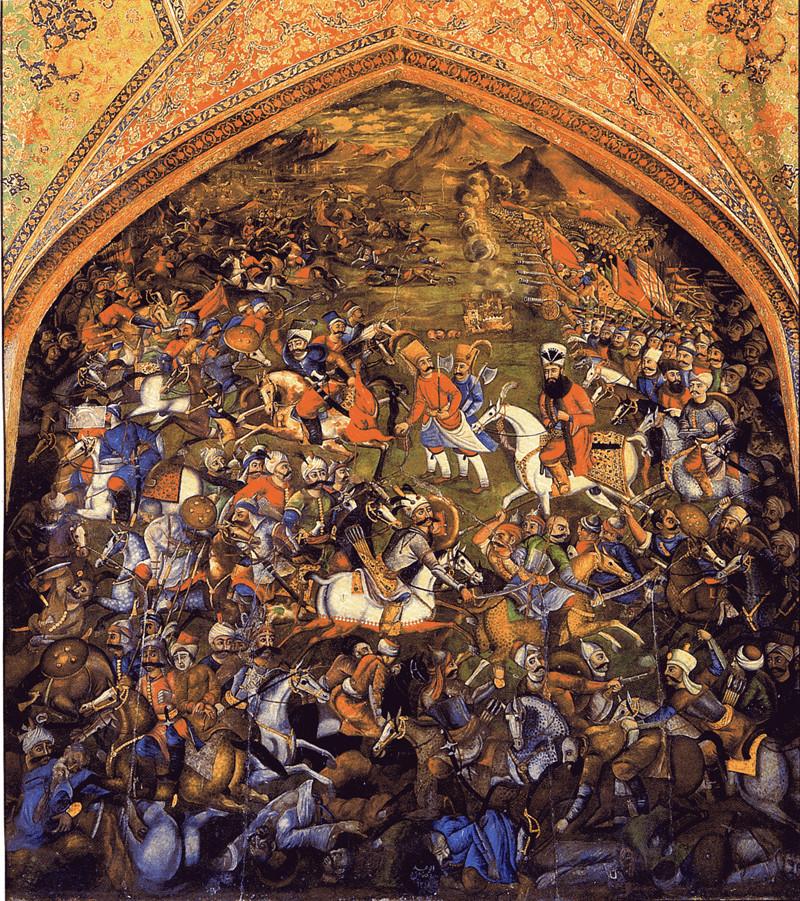 The Battle of Chaldiran.