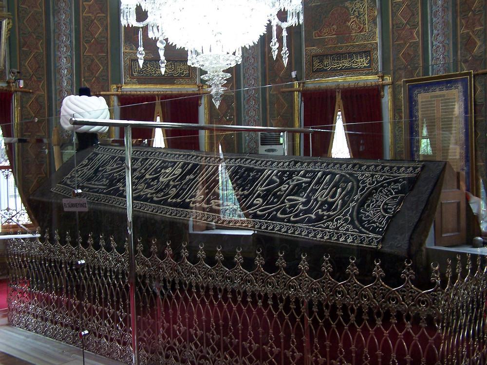 Mehmed II's tomb in Istanbul.