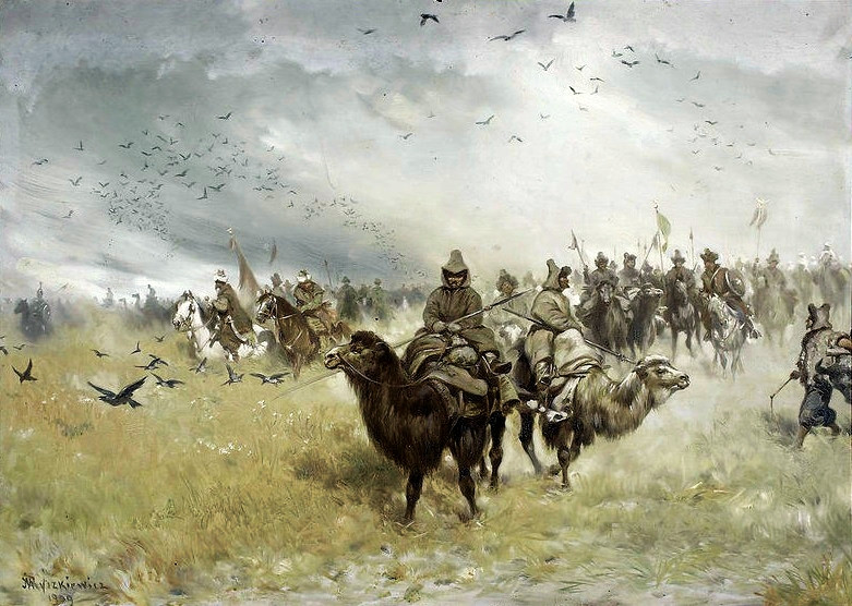 Tatars during the 1620 Battle of Cecora against the Polish Lithuanian Commonwealth