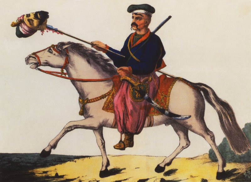 A Cossack warrior