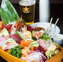 Sashimi and Roll
