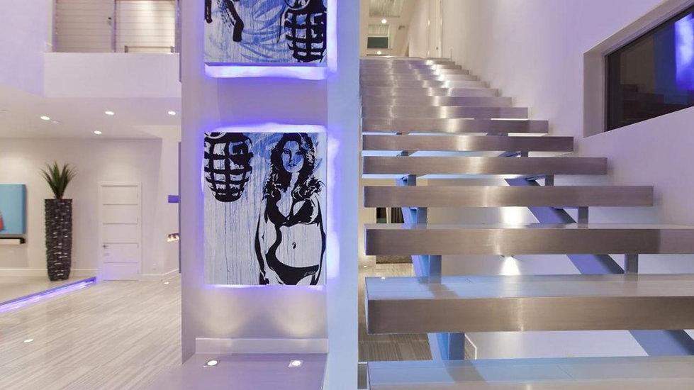 ANDODISED ALUMINUM STAIRCASE | BAHAMAS