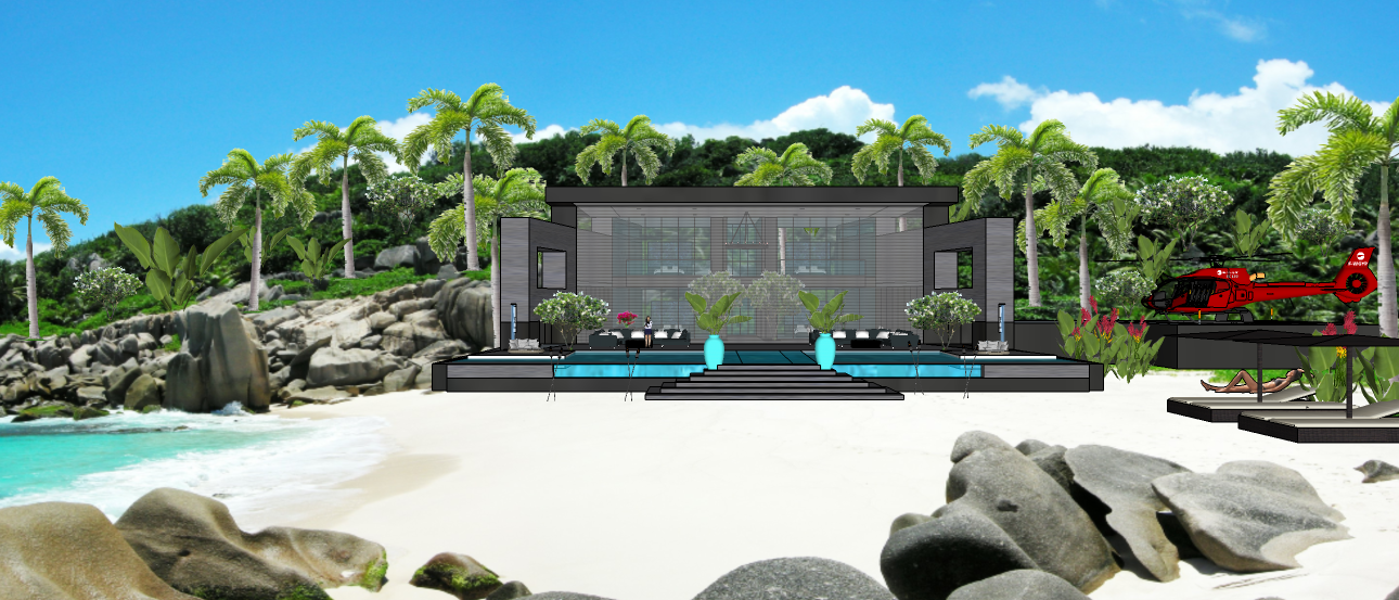 LUXURY TROPICAL VILLA1 1X