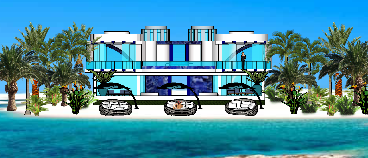 STAR ISLAND GLASS TOWER VILLA 1