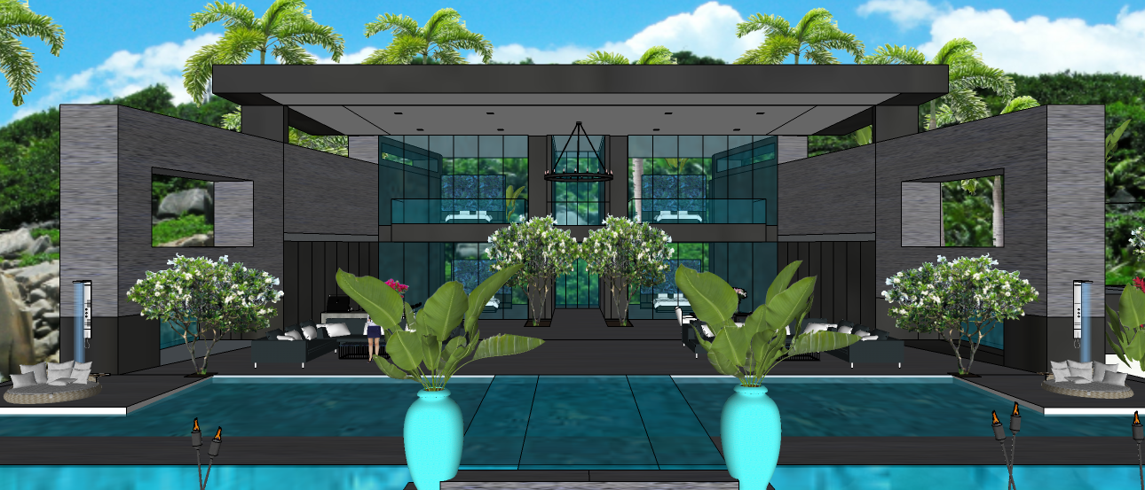 LUXURY TROPICAL VILLA1 6X