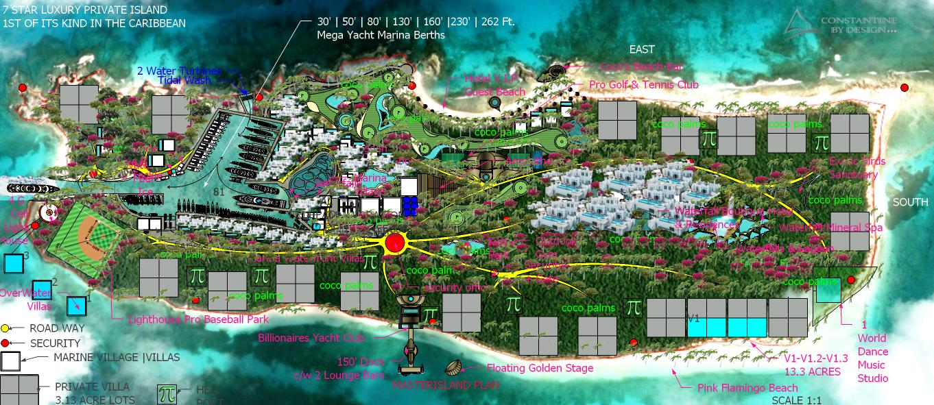 A13 NEPTUNES  ISLAND MARINA MASTERPLAN