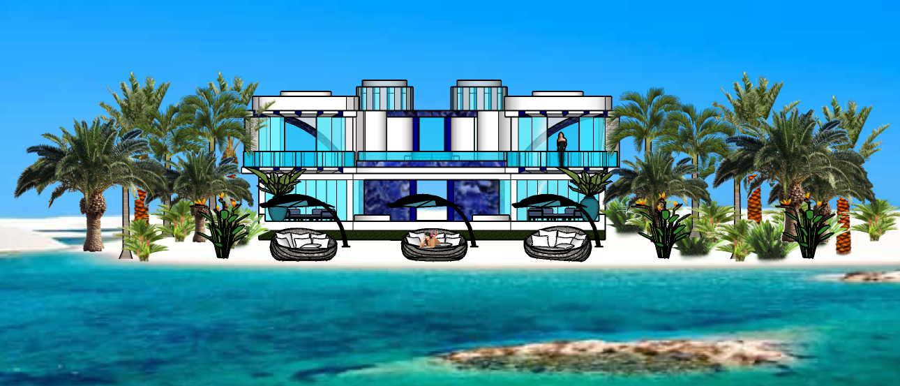 STAR ISLAND GLASS TOWER VILLA 2