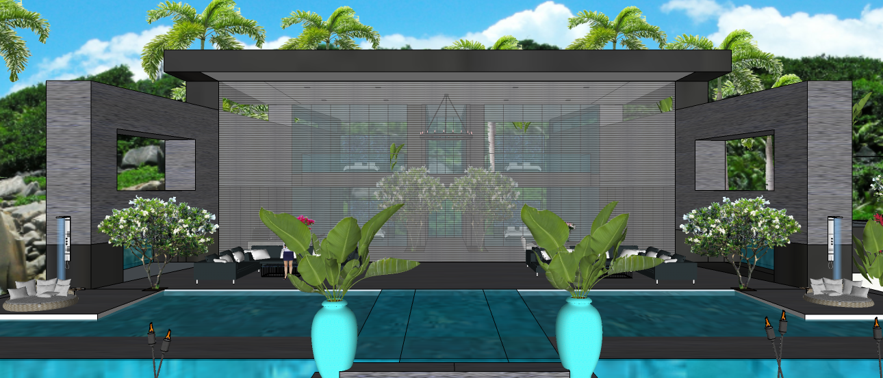LUXURY TROPICAL VILLA1 2X